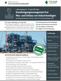 Halbtägiger Workshop – 26. April 2017 von Elsbroek Ingenieure